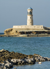 Lighthouse at Sur in Oman