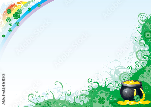 Vector Background for St. Patrick's Day