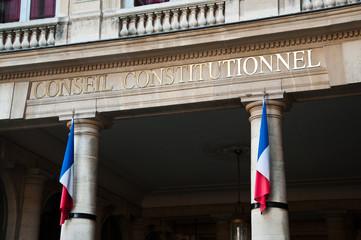 conseil contitutionel à Paris