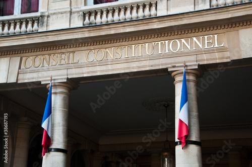 Papiers peints Paris conseil contitutionel à Paris
