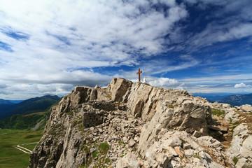 Castellazzo mount - Rolle pass