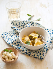 Cjalsons Friuliane alla zucca e formaggio