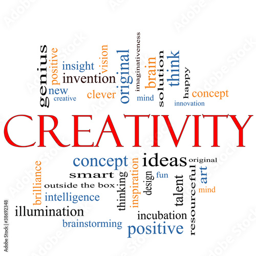 Creativity Word Cloud Concept