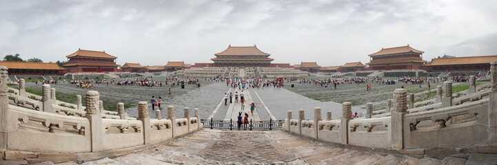 Forbidden city panoramic view