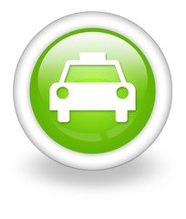 "Light Green Icon ""Taxi Cab"""