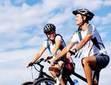 Fototapety bike couple