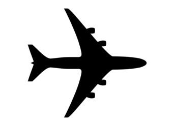 Piktogramm Flugzeug