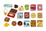 お菓子いっぱい