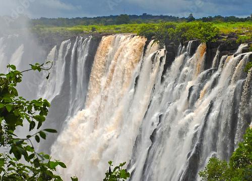 Fototapeten,wasserfall,victoria,wildnis,zambezi