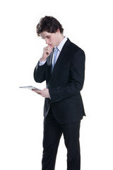 young white-collar worker