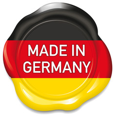 "Seal ""Made in germany"""