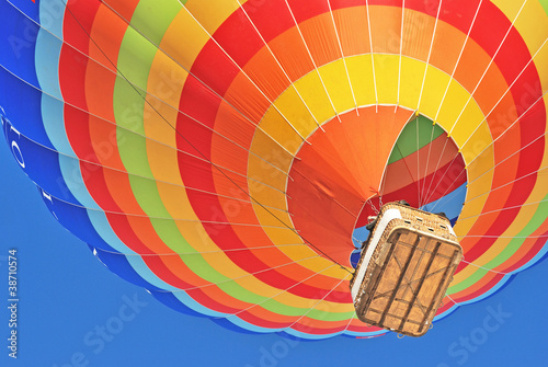 Leinwanddruck Bild hot air ballon