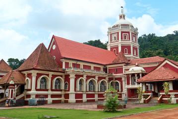 Shri Shantadurga, famous hindu Temple in Ponda .Goa