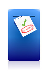 mail box and republican vote illustration design
