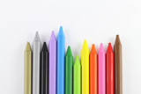 Colored crayons 01