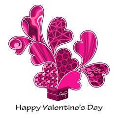 Valentine's pressent pink