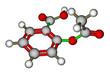 Aspirin molecular structure