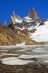 top of Fitz Roy