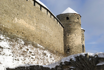 The medieval fortress of Kamyanets-Podilsky, Ukraine