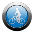 """Metallic Orb Button """"Bicycler"""""""
