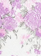 floral textile background