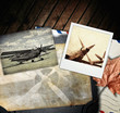 Retro aviation, vintage background