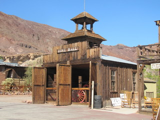 Calico ghost town, californie, usa