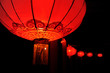 Chinese nylon red lantern (spring festival celebration)