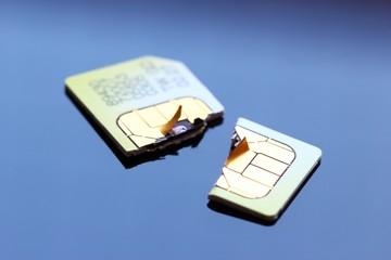 defekte sim-karte makro II