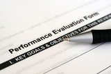 Performance evaluation form poster