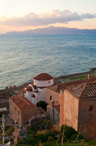 Morning in Monemvasia