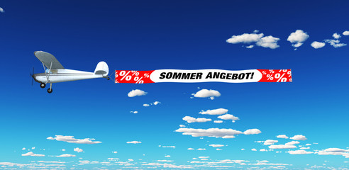 Luftmarketing - Sommer Angebot!