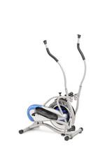 A studio shot of an elliptical cross trainer