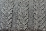 Background of wool knitted fabric