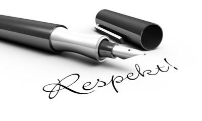 Respekt! - Stift Konzept