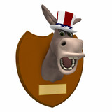 Democrat Mounted