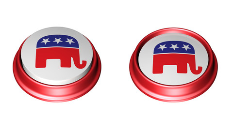 Republican Party Buttons