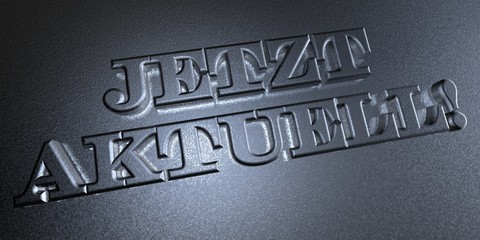 3D Stempel - JETZT AKTUELL