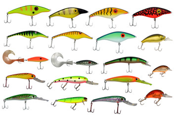 isolated fishing baits