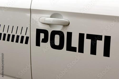 Poster Copenhagen Police