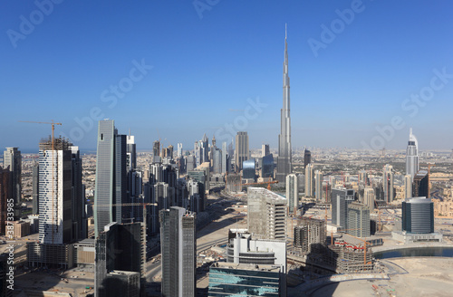 Dubai Downtown view, United Arab Emirates