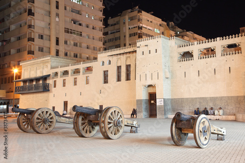 Al Hisn Fort in Sharjah, United Arab Emirates