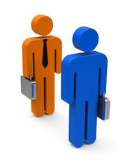 Das Businessmeeting