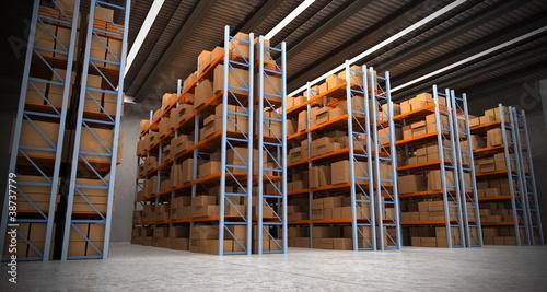 Entrepôt, stockage archive 02
