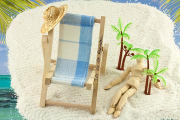 concept vacances tropicales à la Réunion