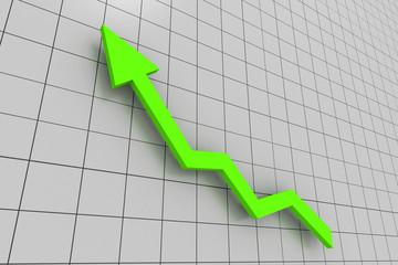 green Business graph