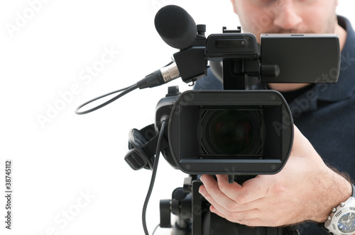 Video camera operator - 38745112