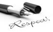 Respect! - Stift Konzept