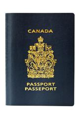 Brand new Canadian Passport, isolated