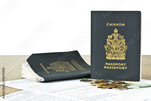 Renewal application for passports